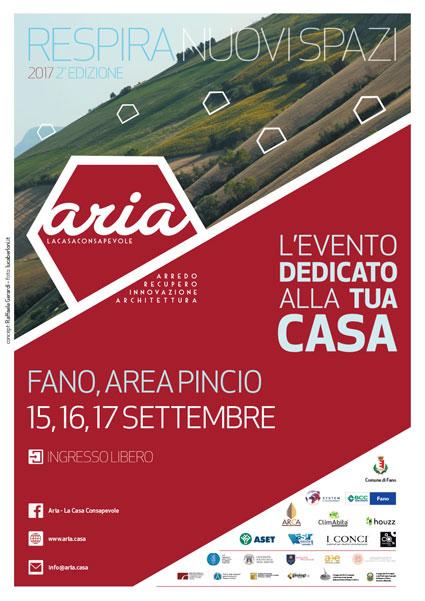 Fiera ARIA, 15-16-17 Settembre Fano, Area Pincio